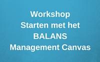 VC productafbeelding Workshop Starten met het BMC