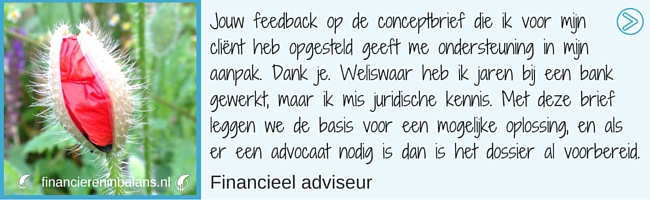 www.financiereninbalans.nl | www.mytrustedadvisor.nl | concept brief bank renteswap
